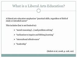 Image result for importance of liberal arts education essay