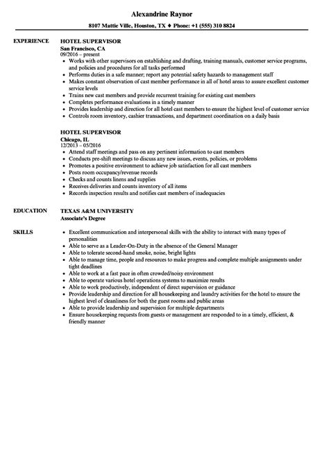 Hotel Resume by Resume For Hotel Hotel Front Desk Resume Exles