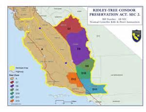 california zone map for deer