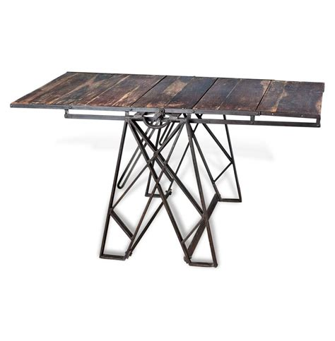 convertible dining table bookshelf prasat industrial loft convertible dining table bookshelf