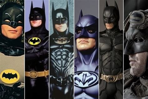 actors who played batman in movies batman movie and tv characters who ve been played by
