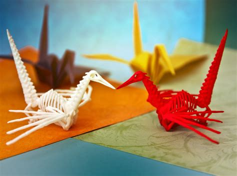 origami skeleton these gifts are unlike anything they ve seen shapeways