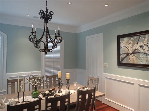 paint for dining room dining room sherwin williams copen blue for the home