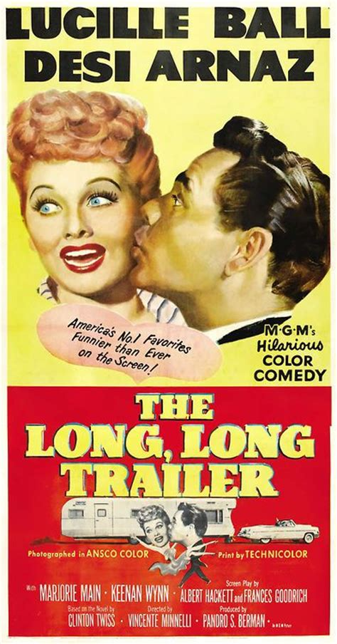 film lucy book the long long trailer i love lucy pinterest