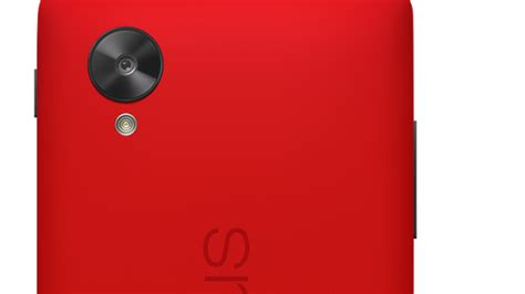 googles nexus      bright red  verge