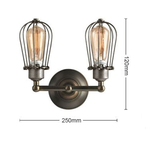 Light Bulb Fixture Types Buy Rh Type Wire Cages Wall L Edison Light Bulb Fixture Cage Bazaargadgets