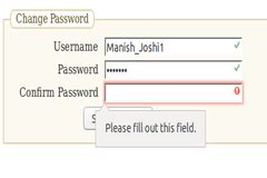 html5 pattern validation for password password validation using html5 and javascript function