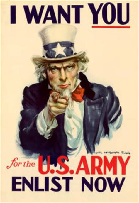 Plakat We Want You by Sam I Want You For U S Army Wwii War Propaganda