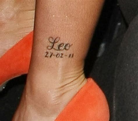 katie price wrist tattoo price unveils new garter at
