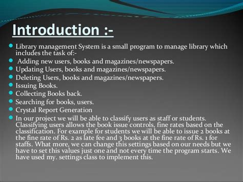acknowledgement thesis library system library management system