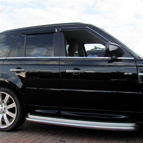 window rain deflectors house window wind rain deflector tinted smoked 4 door kit range rover sport 2005 2013 ebay