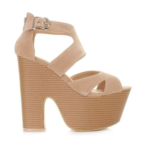 wedges sandals cheap womens platform high heeled peep toe sandals demi