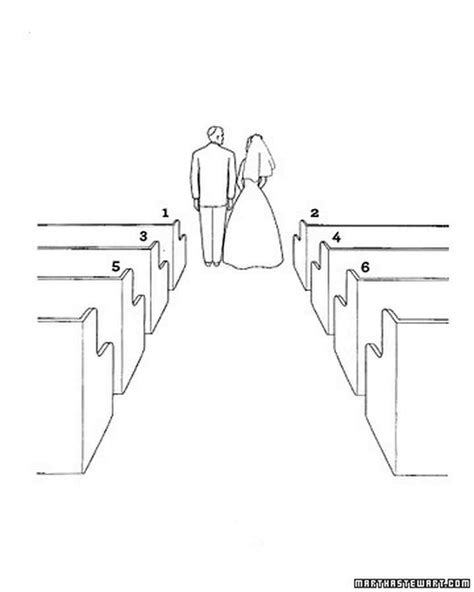 Wedding Ceremony Drawing by Diagram Your Big Day Wedding Ceremony Basics
