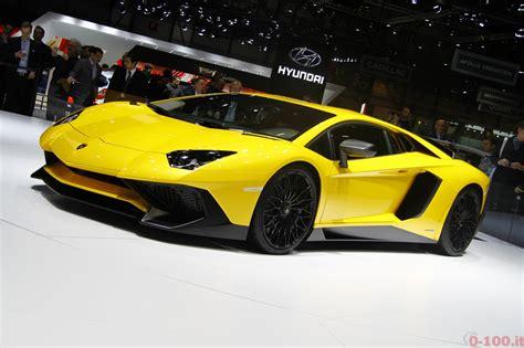 Lamborghini Aventador 0 100 Speciale Salone Di Ginevra 2015 Lo Stand Lamborghini 0