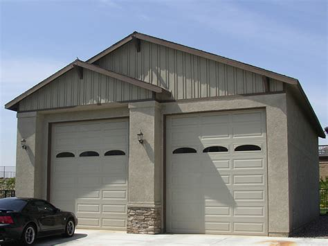 rv garage doors garage plans 2 g469 24 x 30 x 9 2 car garage plans with