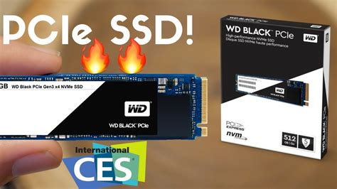 best ssd wd black pcie ssd vs sata ssd the best ssd at ces 2017