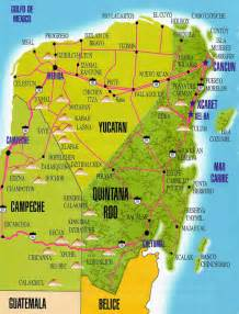 Yucatan Mexico Map by Maps To Came Bus Terminals City Of Merida State Of Yucatan