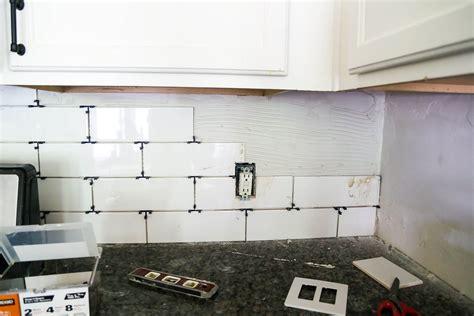 how to install subway tile kitchen backsplash how to install a subway tile backsplash tips tricks