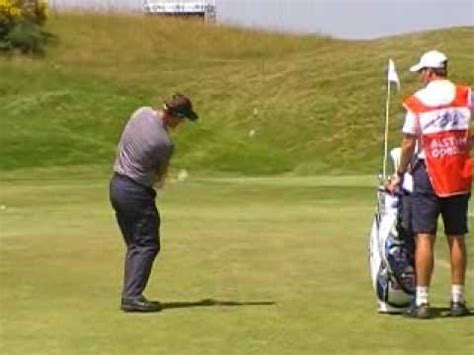 luke donald swing speed luke donald pitch shot youtube