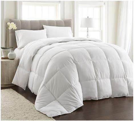 down comforter deals chezmoi collection white goose down alternative comforter