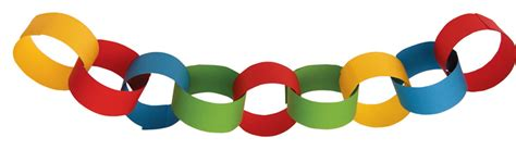Paper Chains For - activities values lessons