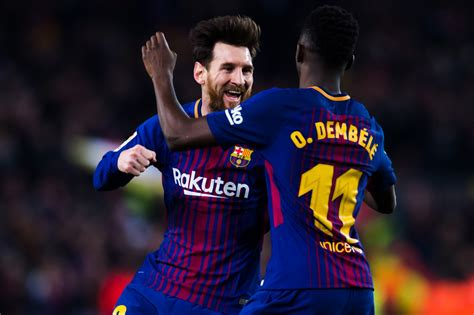 ousmane dembele injury report ousmane dembele opens up about playing with lionel messi