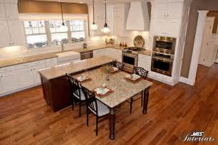 Kitchen Islands With Tables Attached Kitchen Island With Table Attached Beauteous Kitchen