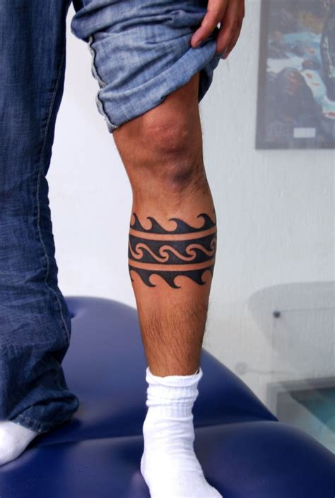 tattoo designs for male legs tribal tattoo leg best