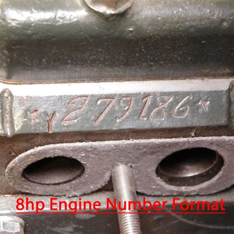 ford number engine chassis numbers small ford spares