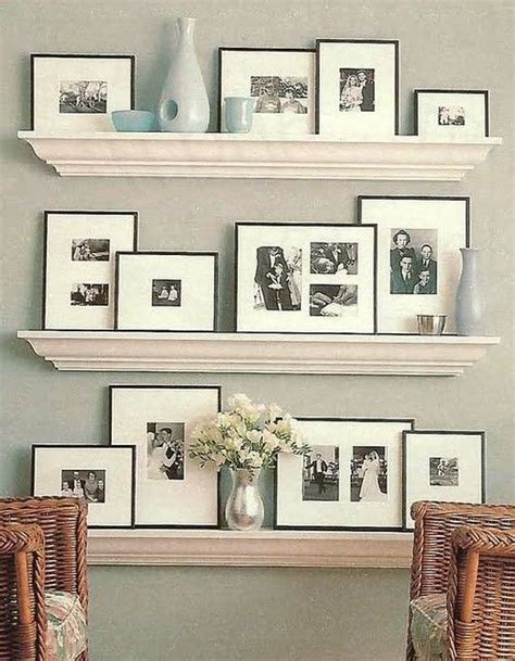 picture ledge ideas shelving floating shelves and frames on pinterest