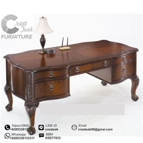 meja kantor eksekutif louis createak furniture