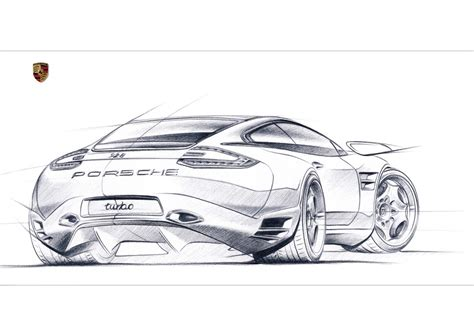 porsche concept sketch 1000 images about free hand automotive sketches on