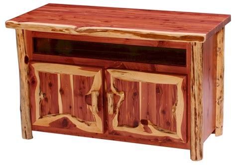 aromatic red cedar tv cabinet rustic living room furniture
