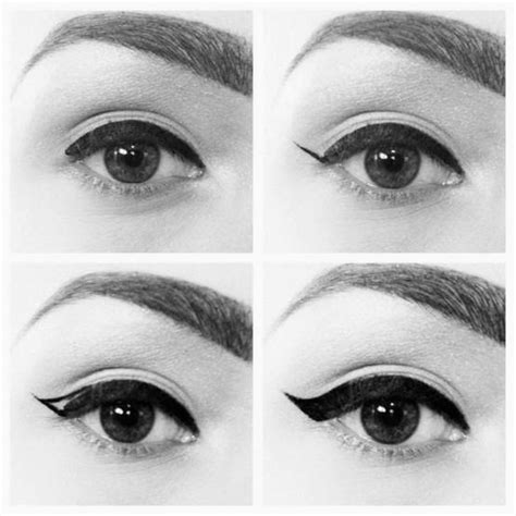 cat eyeliner tutorial step by step guest post easy step by step cat eye tutorial the