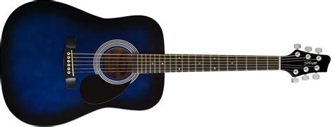 Stagg Handmade Western Guitar - stagg sw201 3 4 acoustic guitar blueburst
