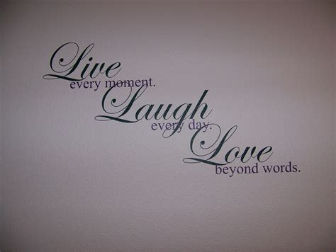 laugh live love blank