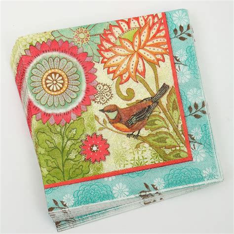 Serviettes For Decoupage - popular bird paper napkins for decoupage buy cheap bird