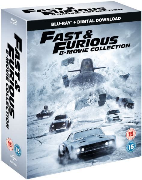 fast and furious 8 blu ray fast furious 8 film collection digital download blu
