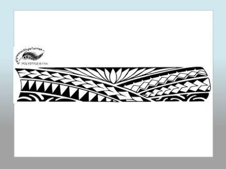 polynesian wristband tattoo designs polynesian style arm designs maoriiii