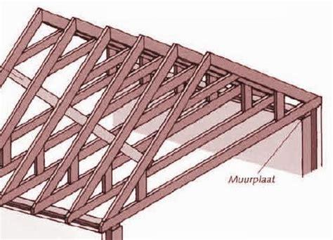 dak constructie houten constructie plaatsen spantendak dakwerken hellend dak
