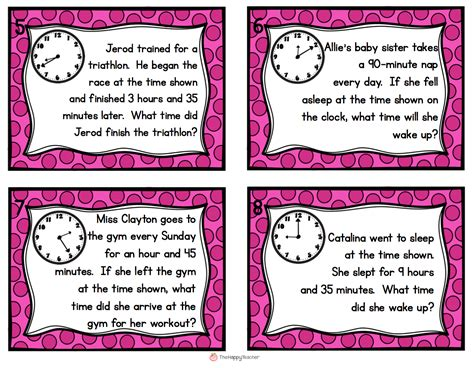 time word problems grade 3 printable 1000 ideas about