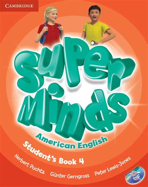 super minds american english student s book with dvd rom level 4 by herbert puchta g 252 nter