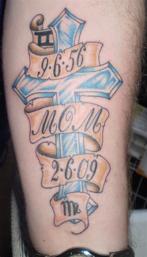 in memory of cross tattoos memorial tattoos designs ideas and meaning tattoos for you