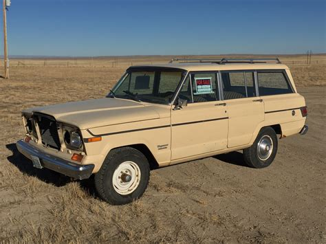 jeep wagoneer wyoming roadside find 1979 jeep wagoneer