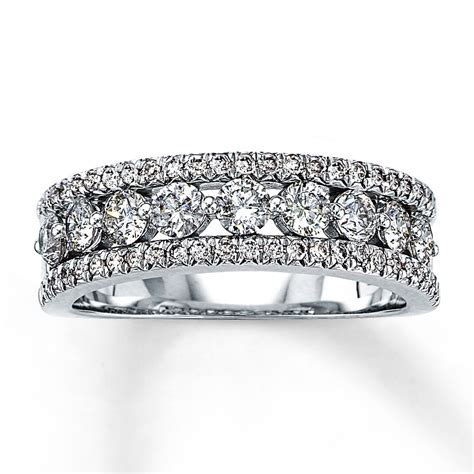 Anniversary Bands by Jared Anniversary Ring 1 Ct Tw Cut 14k