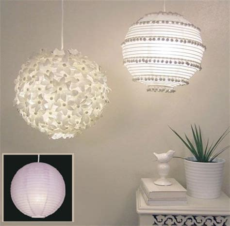 Paper Craft L Shades - home dzine craft ideas light fitting