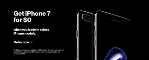 at t and verizon their own free iphone 7 offers