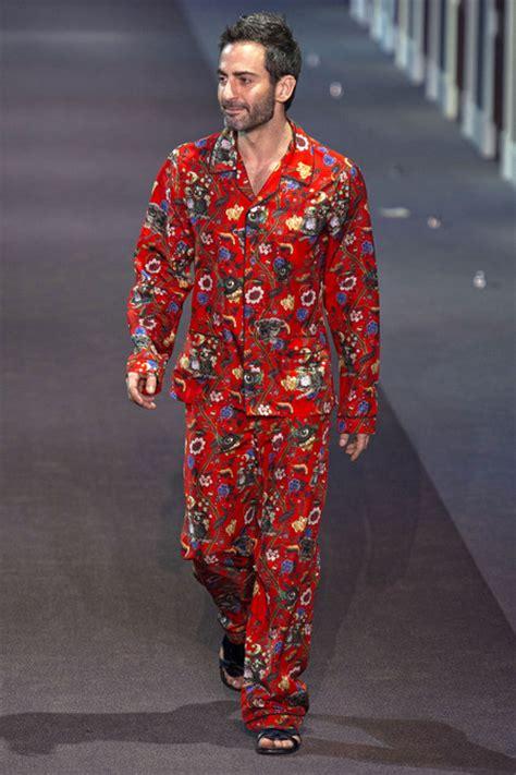 Pajamas Lv marc after the louis vuitton fw 2013 show pjs