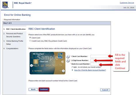 reset rbc online banking password rbc royal bank online banking login cc bank
