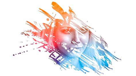 color effects for pictures photoshop amazing photo effects paint splash on